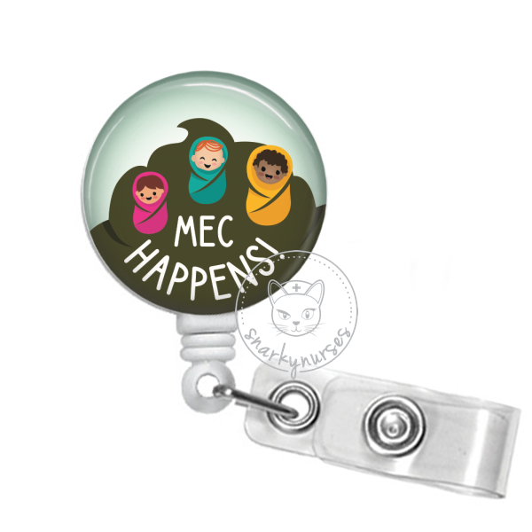 Badge Reel: Mec Happens - Multiple Colors!