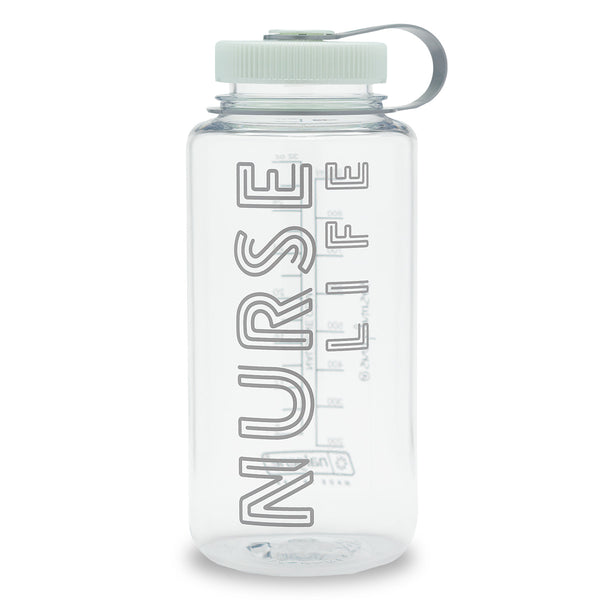 Nalgene® Nurse Life Clear Water Bottle