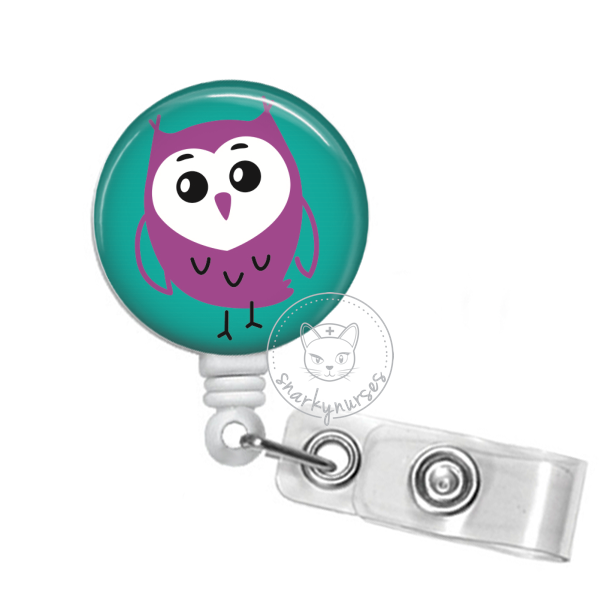Badge Reel: Owl