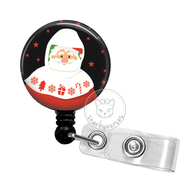 Badge Reel: PAPR Santa