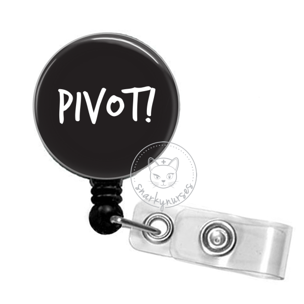 Badge Reel: PIVOT! - Multiple Colors