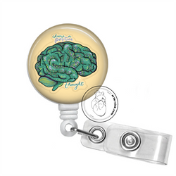 Badge Reel: Choose a Positive Thought - Brain