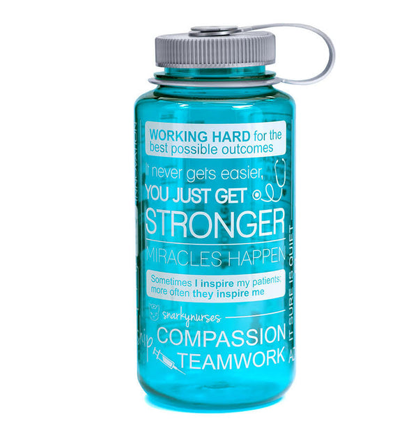 Nalgene® Positive Vibes Cerulean Water Bottle