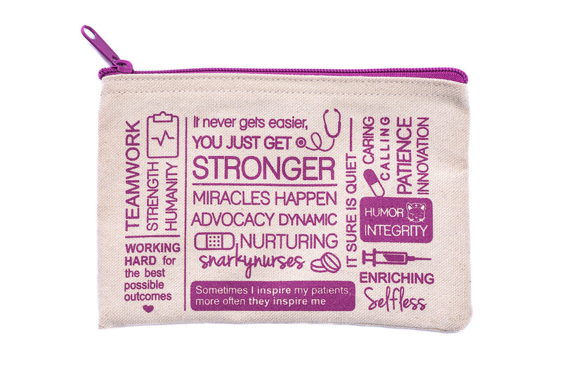 Positive Vibes Zippered Pouch