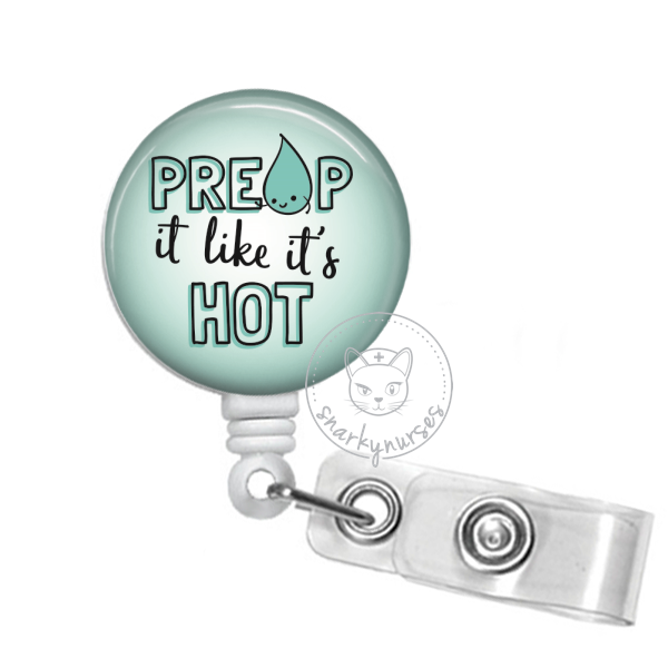 Badge Reel: Preop It like It's Hot - Multiple Colors!