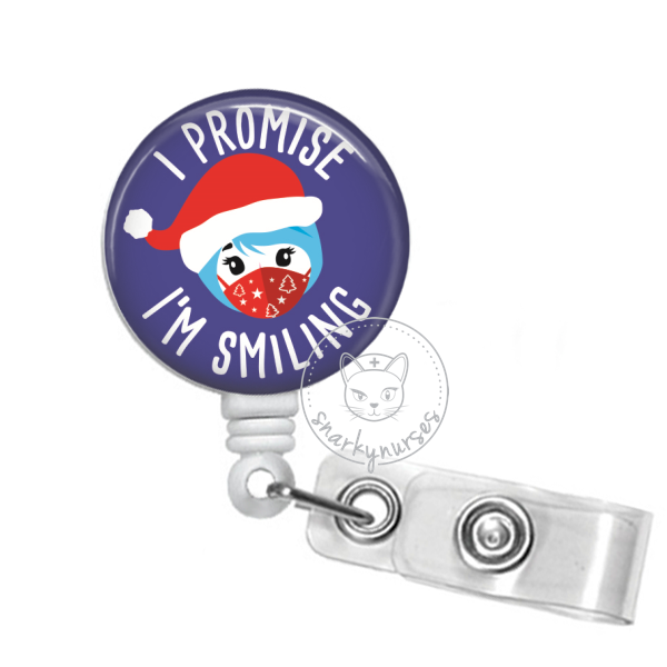Badge Reel: Promise I'm Smiling Holiday