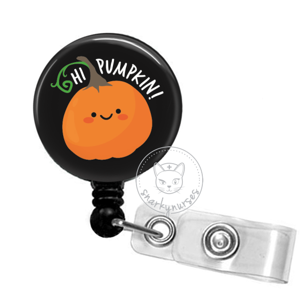 Badge Reel: Hi Pumpkin