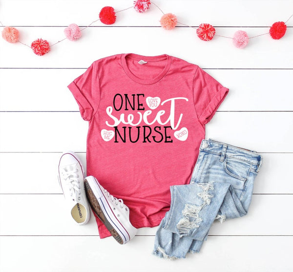 Shirt: One Sweet Nurse