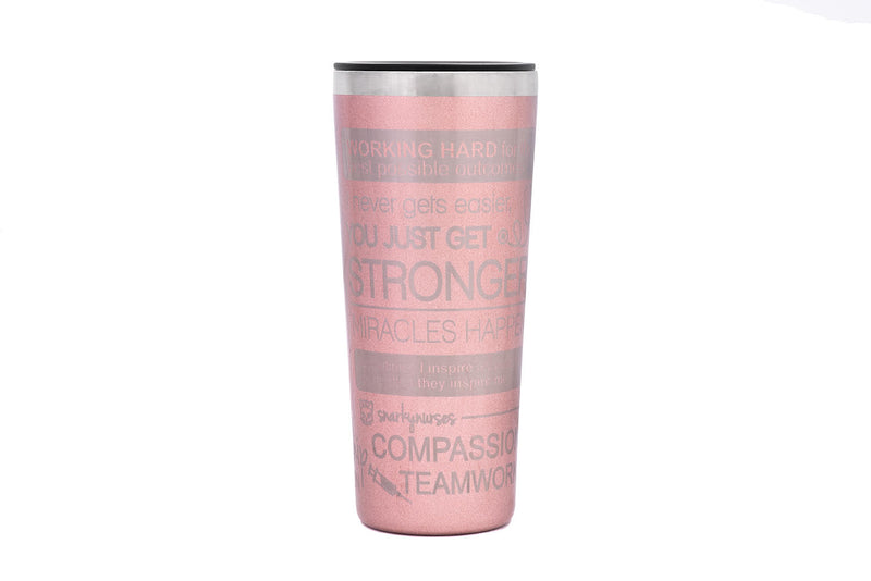 Tumbler: Positive Vibes - Multiple Colors