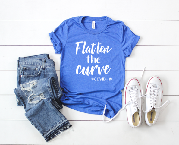 Shirt: Flatten the Curve