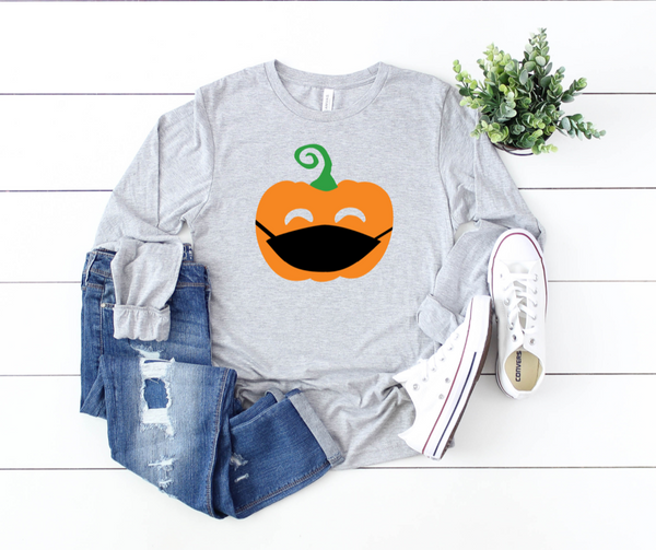 Shirt: Masked Jackolantern - Long Sleeve
