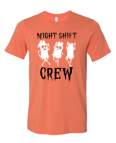 Shirt: Night Shift Crew [Halloween]