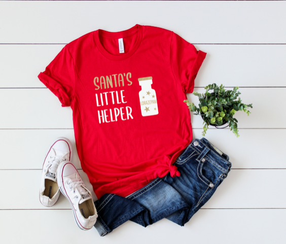 Shirt: Santa's Little Helper