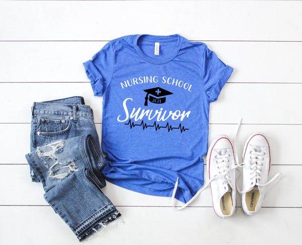 Shirt: Nursing School Survivor