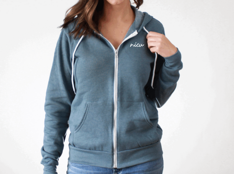 Full-Zip Hoodie: Your Specialty!