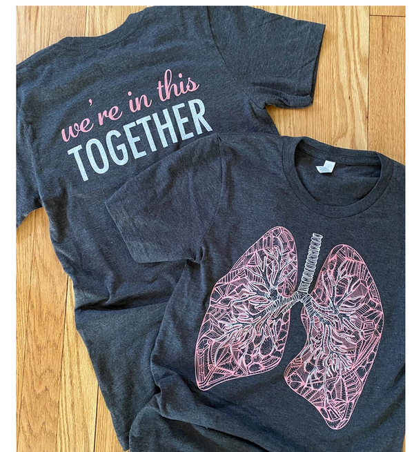 Shirt: We're In This Together - Lungs