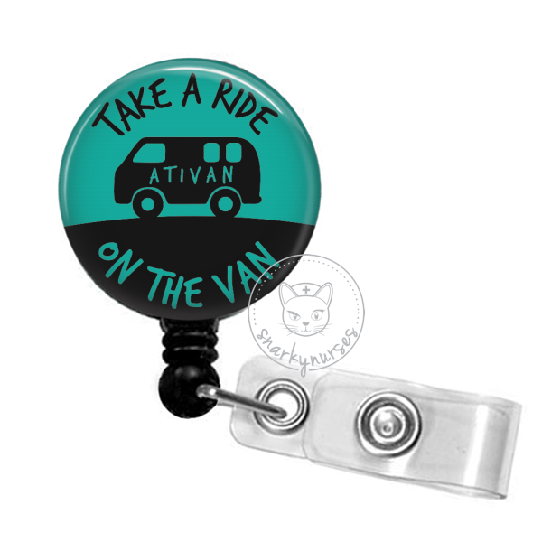 Badge Reel: Take a Ride on the Van - Multiple Colors