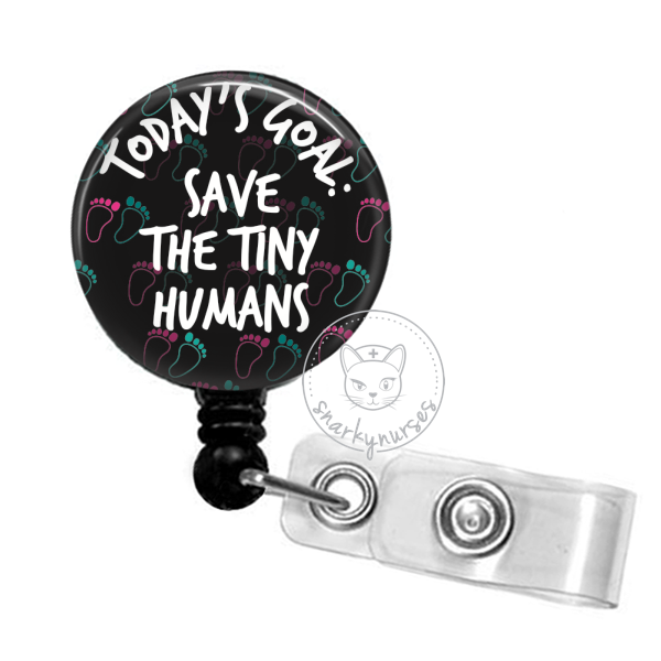 Badge Reel: Today's Goal: Save the Tiny Humans