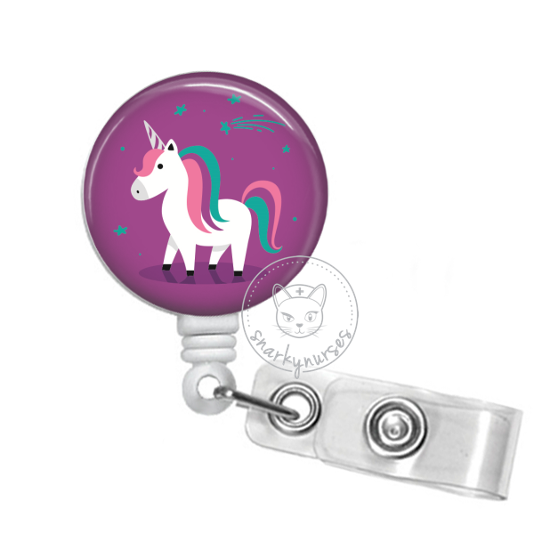 Badge Reel: Unicorn - Multiple Colors