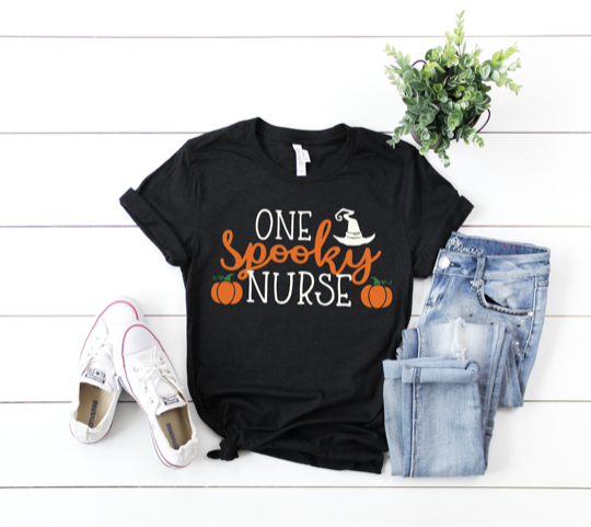 Shirt: One Spooky Nurse [Halloween]