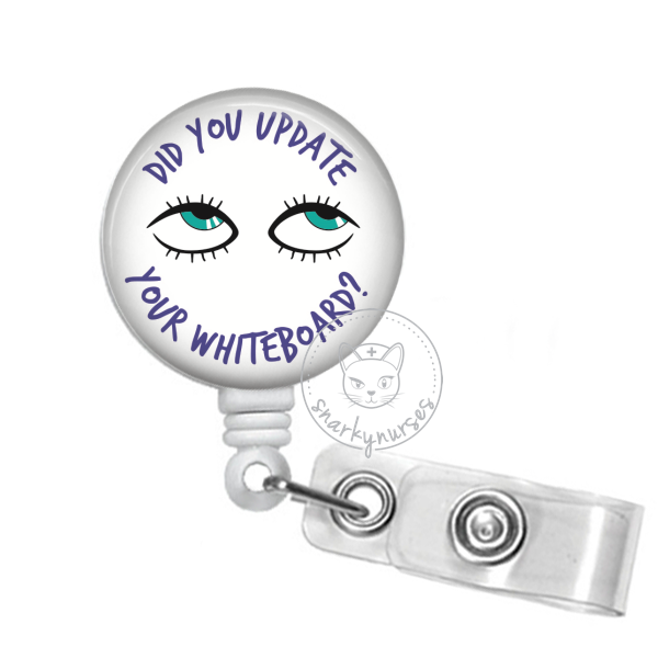 Badge Reel: Did You Update Your Whiteboard? - Multiple Colors