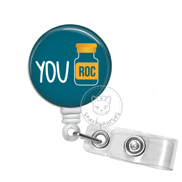 Badge Reel: You Roc - Multiple colors!