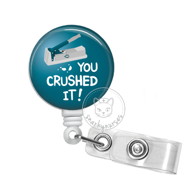 Badge Reel: You Crushed It
