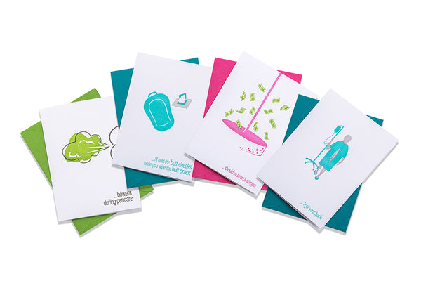 Buy 2 Snarky Greeting Cards!