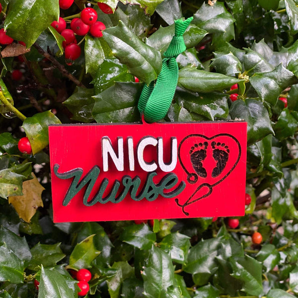 Ornament: NICU Nurse