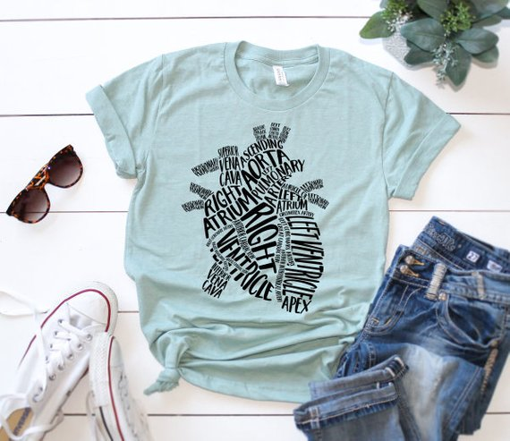 Shirt: Typographical Heart