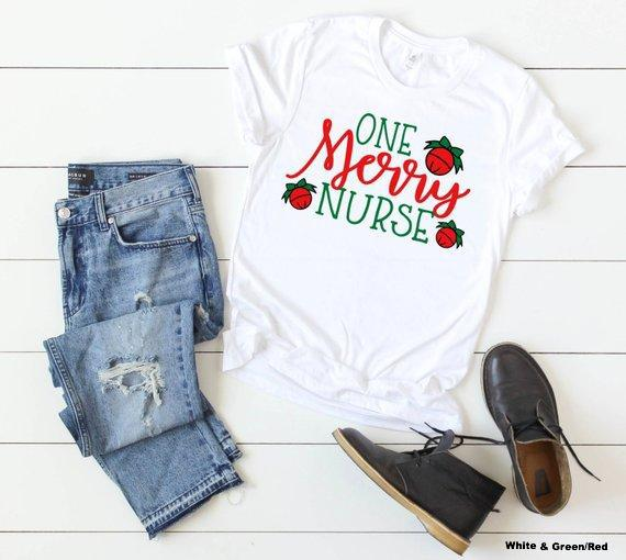 Shirt: One Merry Nurse
