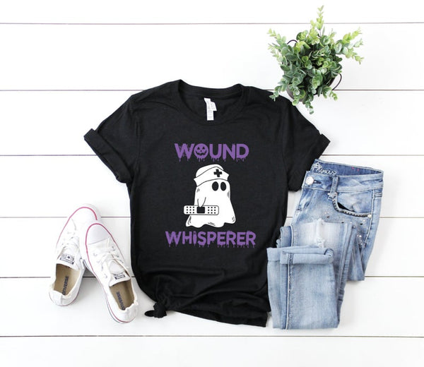 Shirt: Wound Whisperer [Halloween]