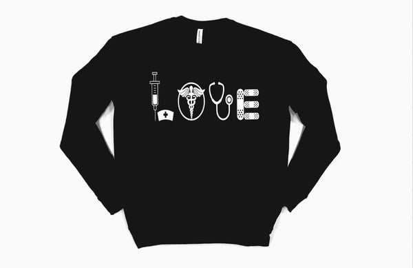 Sweatshirt: LOVE