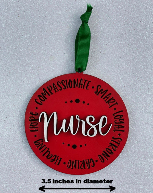 Ornament: Nurse