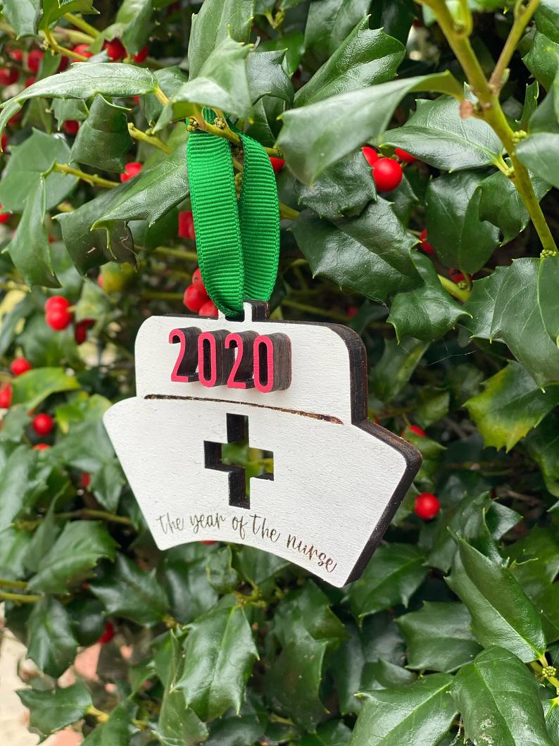 Ornament: 2020 Year of the Nurse