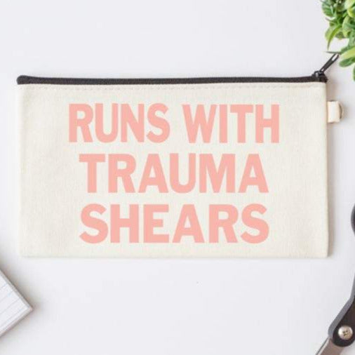 Pen Bag: Runs with Trauma Shears