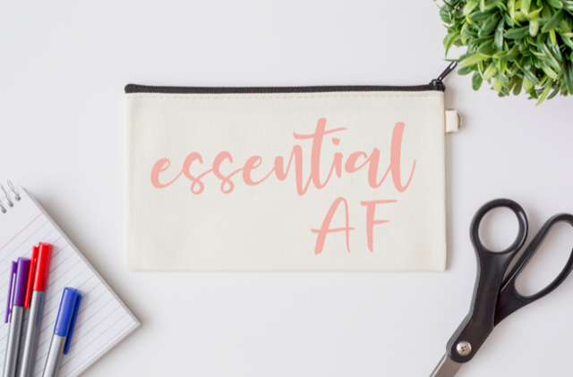 Pen Bag: Essential AF
