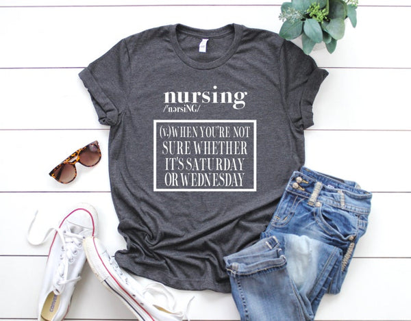 Shirt: Nursing Definition