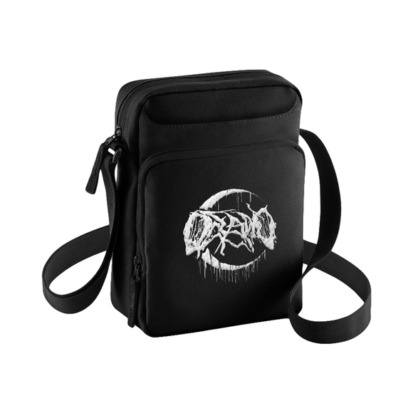 Crescent Logo Embroidered Shoulder Bag