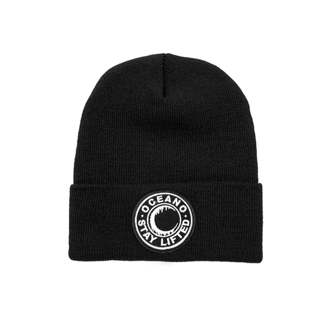 Stay Lifted Moon Patch Beanie