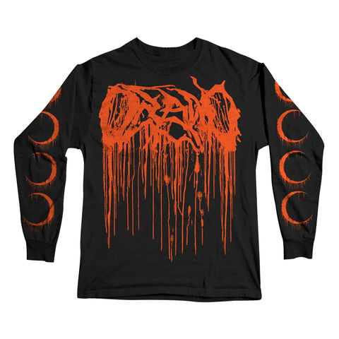 Orange Drip Longsleeve