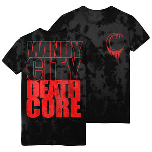 Windy City Death Dye Tee