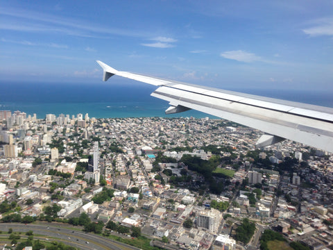 Solace flight to PR