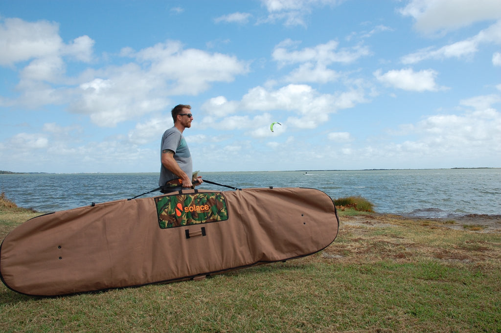 Hemp SAC Board Bag - Solace SUP Boards
