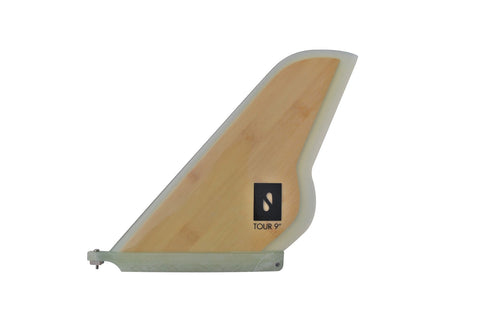 "9"" Bamboo Touring Fin - Solace SUP Boards"