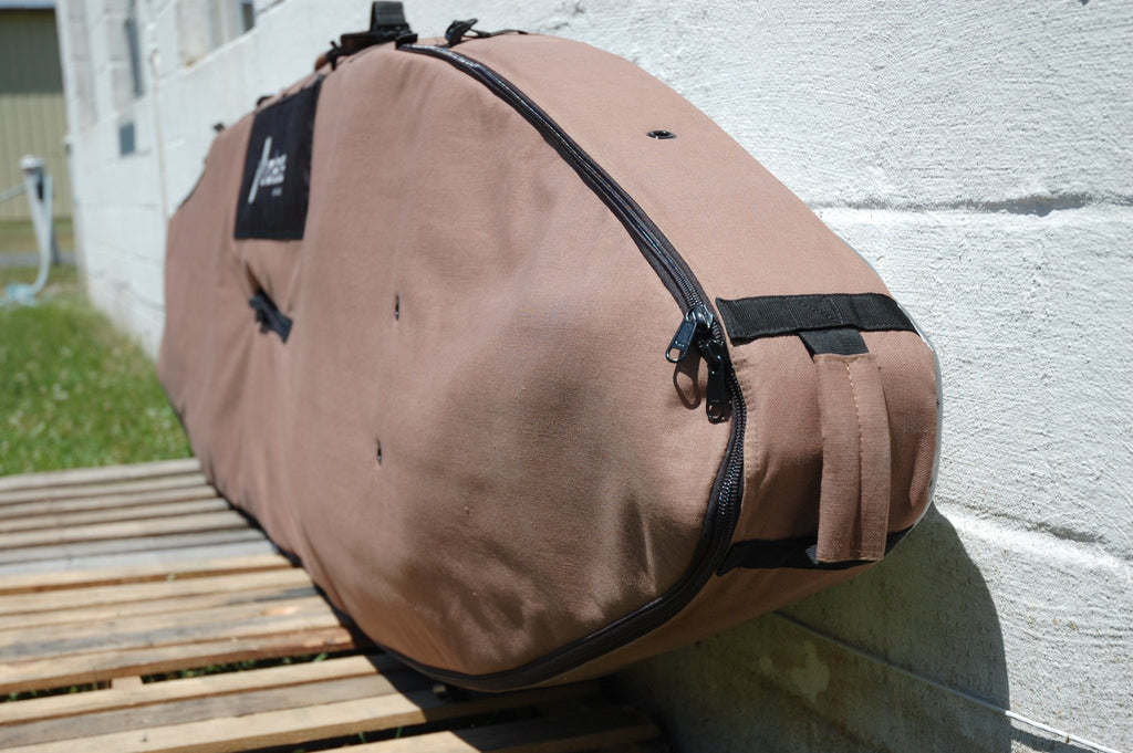 Race/Touring Hemp SAC Board Bag - Solace SUP Boards