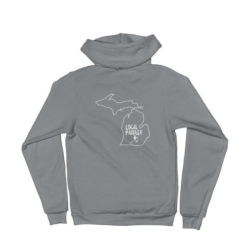 Local Michigan Zip Hoodie