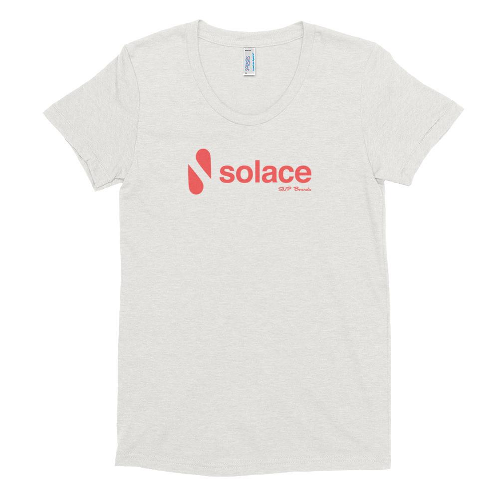 Classic Solace women's try-blend soft t-shirt - Solace SUP Boards
