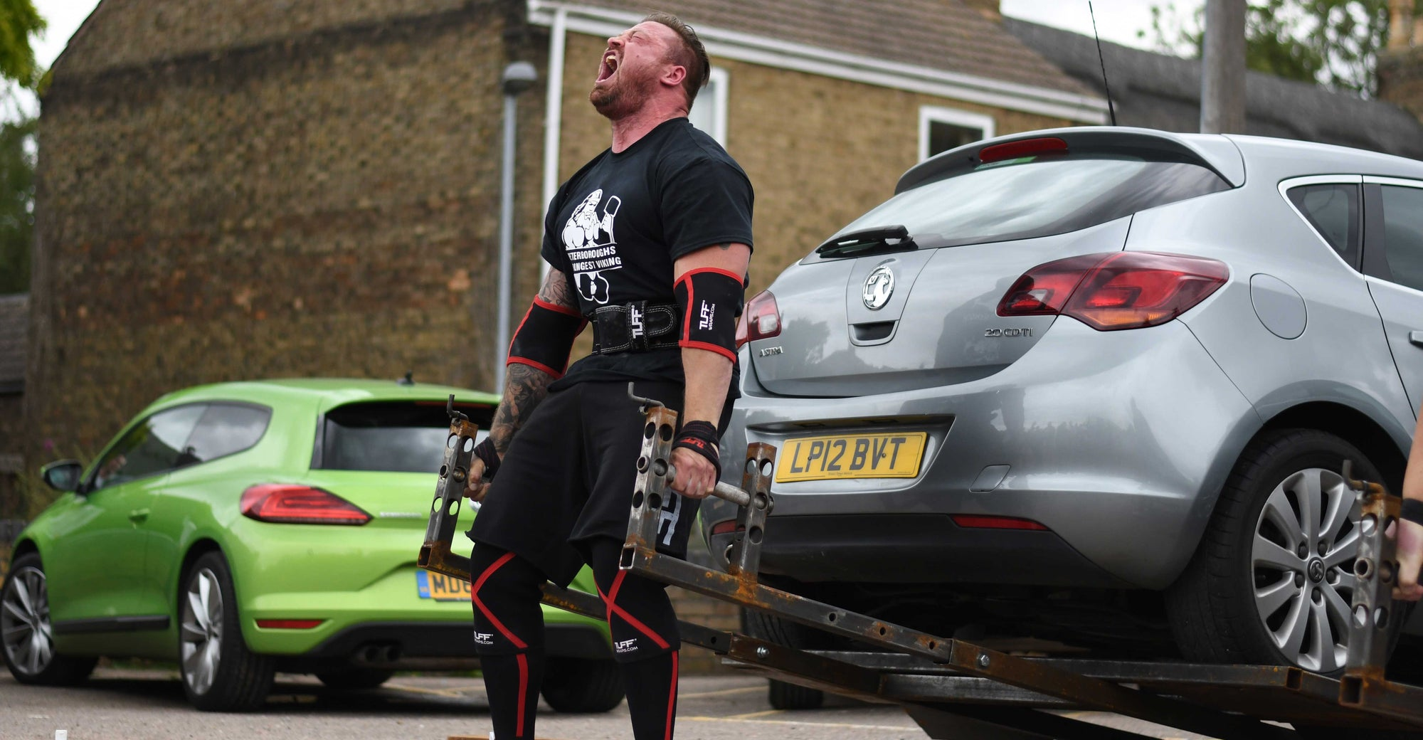 James William's Wins Peterborough's Strongest Man......
