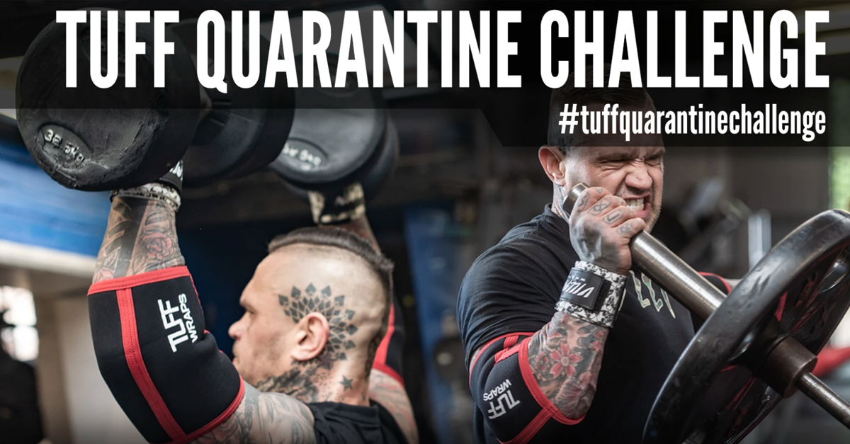 TUFF Quarantine Challenge 1 Week Left!